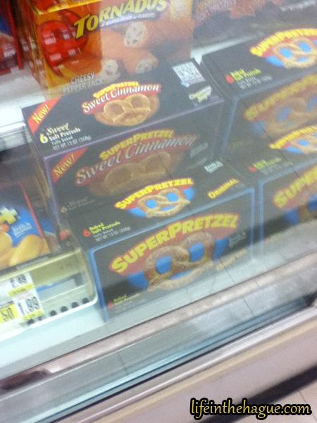 Cinnamon (Or: Frozen pretzels at Shoprite)