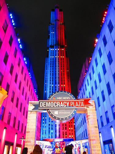 Election 2012 (Or: Rockefeller Plaza) (3/3)