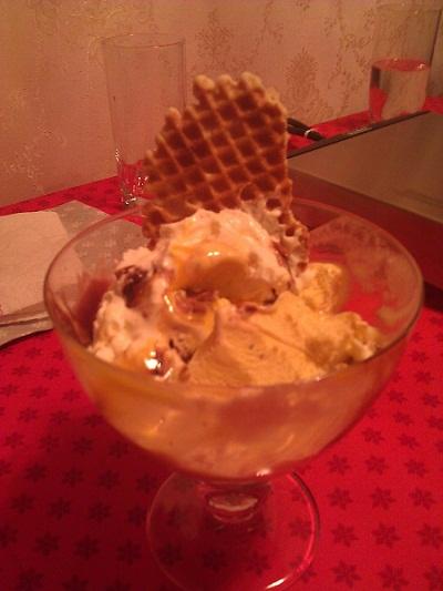 ice cream sundae in the Netherlands