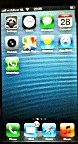 iPhone 5 screen