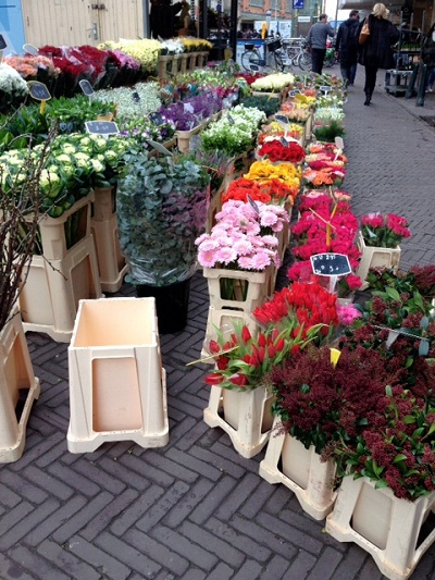 flowers for sale in the Hague