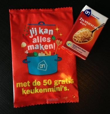 Albert Heijn 50 gratis keukenminis