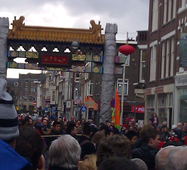 Chinatown Den Haag Chinese New Year streets