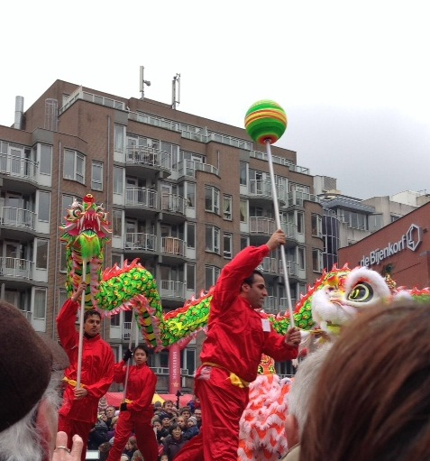 Chinese New Year Den Haag 2013 dragon dancers 3