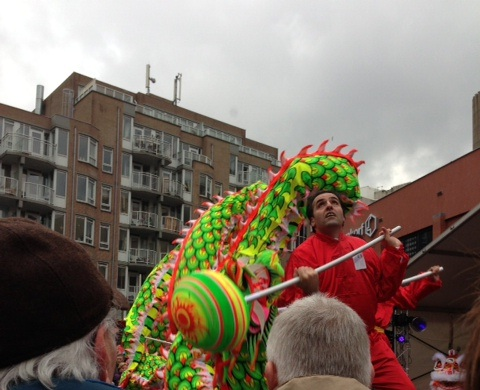 Chinese New Year Den Haag dragon dancers 2