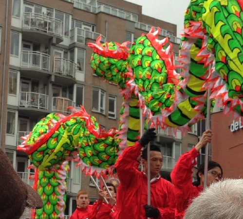 Chinese New Year Den Haag dragon dancers