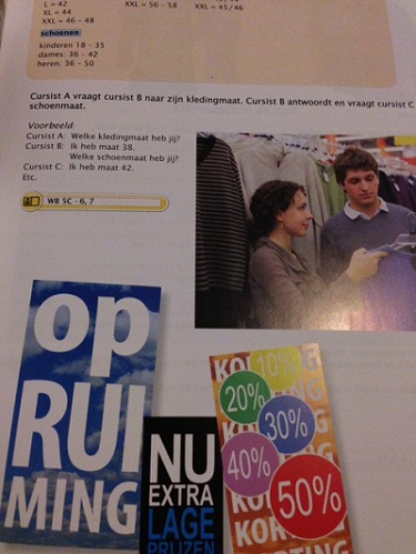 Contact 1 (Or: My Dutch school books have arrived!) (2/2)
