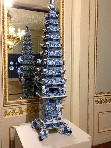Gemeente Museum Chinees blauw sculpture