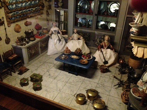 Gemeente Museum view inside dollhouse room