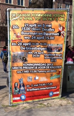 advertisement for a Dutch carnival