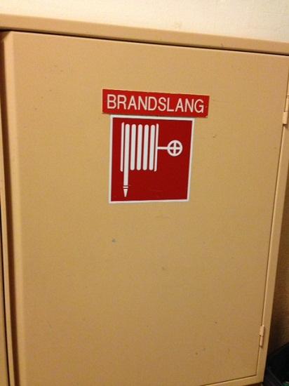 Dutch word for fire hose