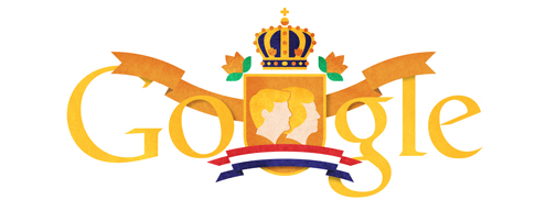 Google logo for King Willem-Alexander van Oranje