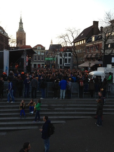 Grote Markt Koninginnenacht The Hague 2013