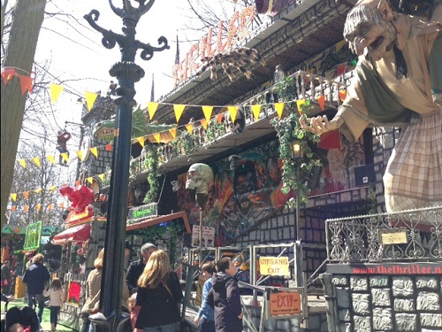 Haunted House at a Dutch carnival