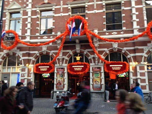 Hommerson Casino Koninginnenacht The Hague 2013