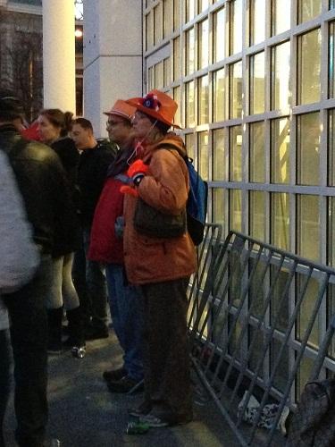 people in orange 2 Koninginnenacht The Hague 2013