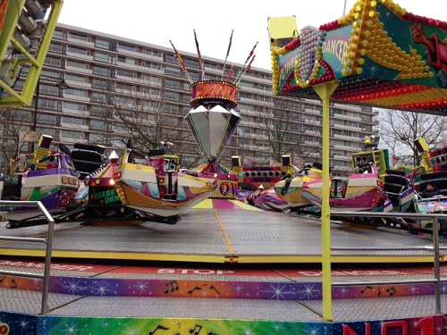 ride at a carnival in Rijswijk NL