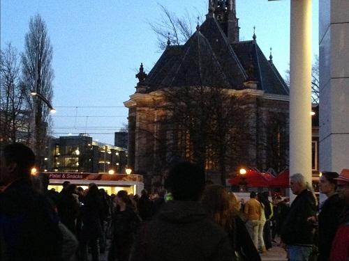 Spuiplein Koninginnenacht The Hague 2013