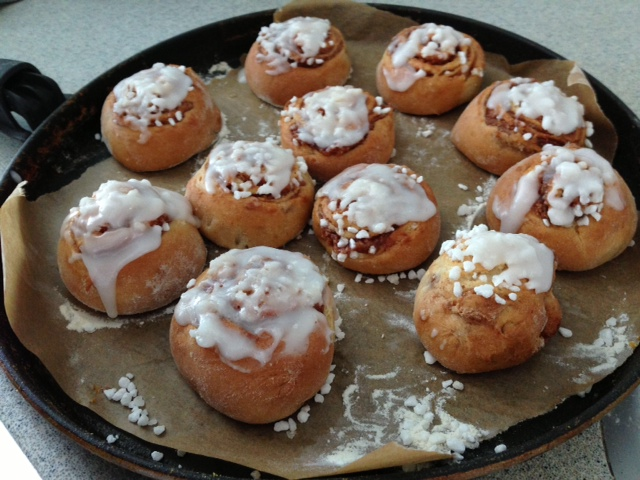 Cinnamon rolls (Or: Marco the master baker)