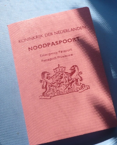 Dutch emergency passport