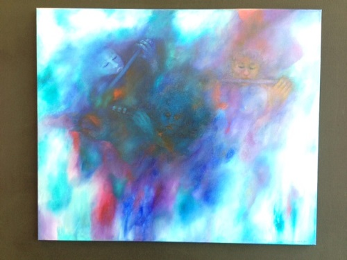 painting at Centrale Bibliotheek