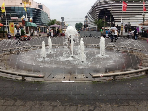 fountain in Scheveningen