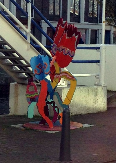 sculpture in The Hague
