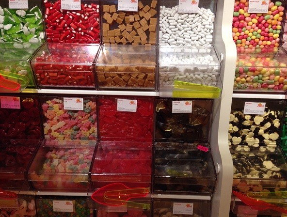 candy at the Pathemarkt Spui in The Hague 2
