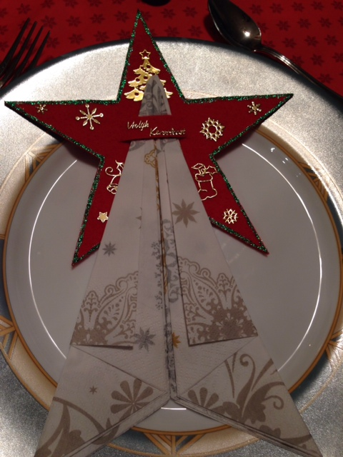 Dutch Christmas napkin holder