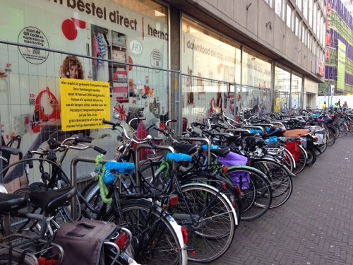 too many bikes in The Hagues