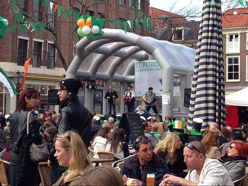 St Patricks Day band The Hague 2014