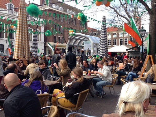 St Patricks Day The Hague 2014