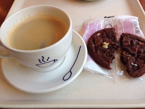 coffee and cookie by Hema