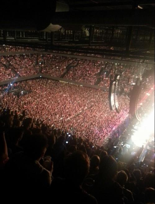 Pearl Jam concert in The Hague June 17 2014