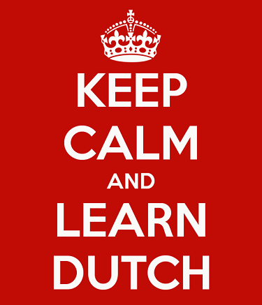 Keep calm and learn Dutch