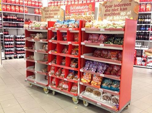 Kruidnootjes en meer display in Den Haag