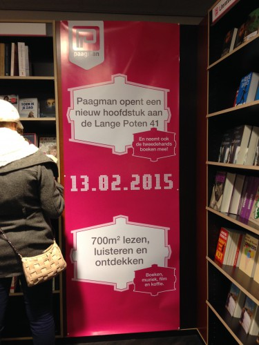 Paagman's moving to Lange Poten 41