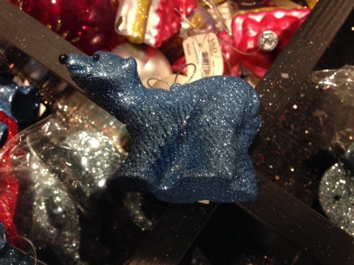 Christmas ornament at V&D