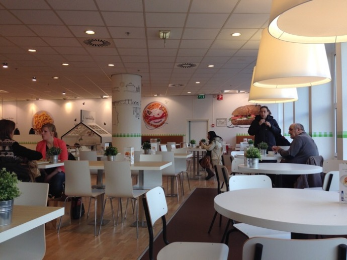 Redesign of Hema cafe Grote Markt 1