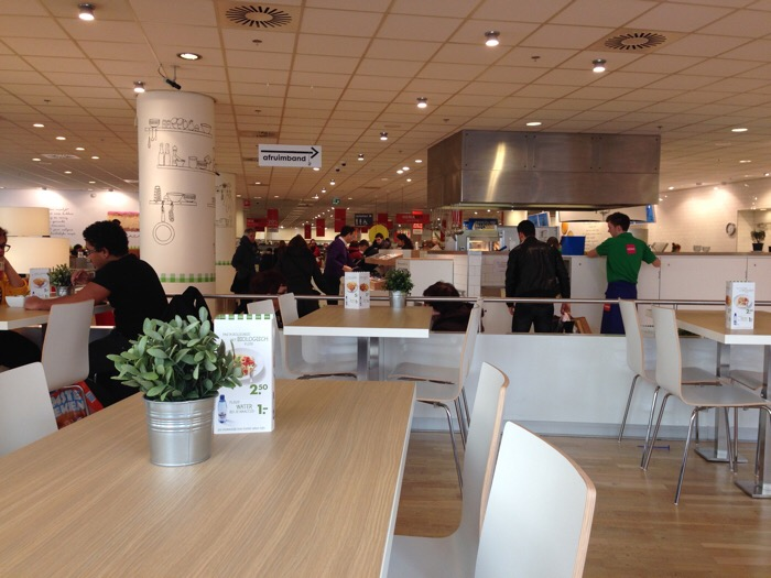 Redesign of Hema cafe Grote Markt, 2
