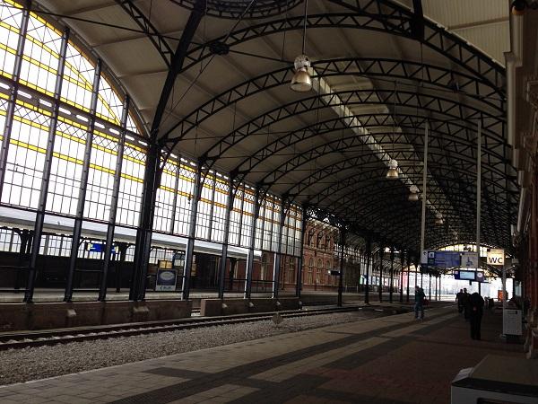 Holland Spoor train station platform
