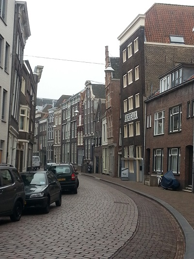 Street in Dordrecht, the Netherlands