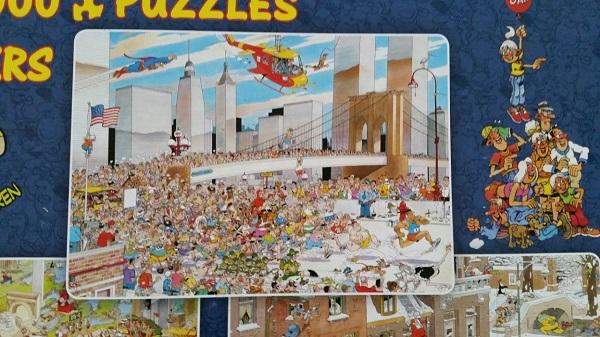 Jan van Haasteren NY marathon puzzle