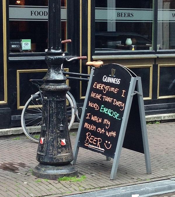 Guiness sign Utrecht