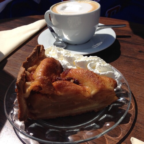 Apple pie in Leiden
