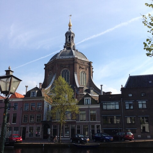 Building in Leiden