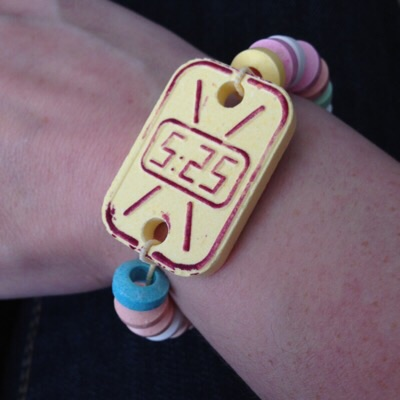 Watch made of candy