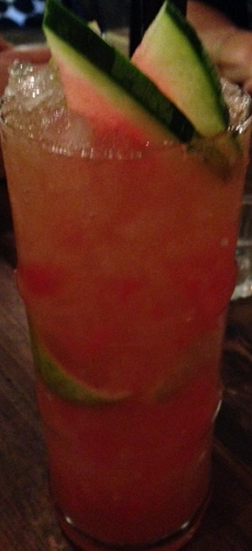 Lady Dragon iced tea at Little V