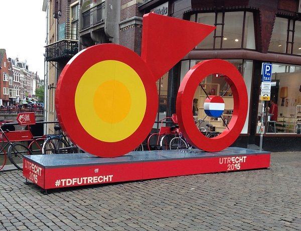 Tour de France 2015 sign in Utrecht