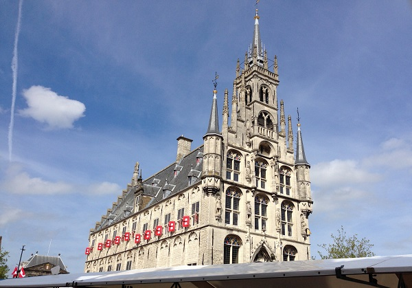 City hall Gouda in the Netherlands